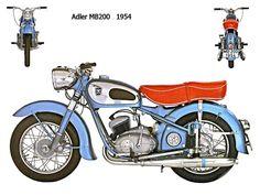Adler MB200 1954