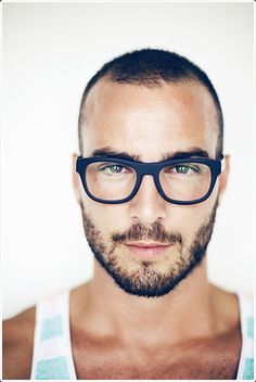 76efe4bd84 Never be shy of buying a pair of bold colored glasses. Short Hair Cuts
