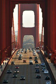 Golden Gate, San Francisco photo via okamiblog