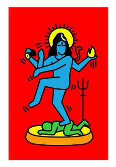 Shiva Poster - 199/-