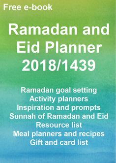 Happy Muslim Mama: Ramadan and Eid Planner Free Ramadan and Eid Planner for The planner is a bumper 74 pages and has lots of sections for your Ramadan and Eid goals plans and ideas. Ramadan Is Coming, Goal Setting Activities, Goal Planning, Day Planners, Meal Planner, Food Gifts, Eid, Prompts, Muslim