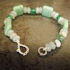Jewelry, Bracciale Argento e Pietre Dure. Handmade
