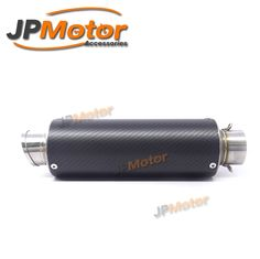 51mm Round Whole Carbon Fiber Slip On Exhaust For Motorcycle