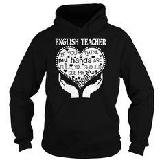 English Teacher - Heart T-Shirt