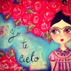 Risultati immagini per caricatura frida kahlo Diego Rivera, Mexican Folk Art, Mexican Style, Frida Quotes, Kahlo Paintings, Frida And Diego, Frida Art, Cute Images, Body Painting