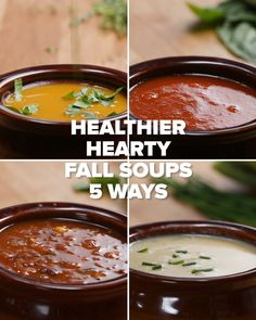 5 Healthy & Hearty Fall Soups by Tasty