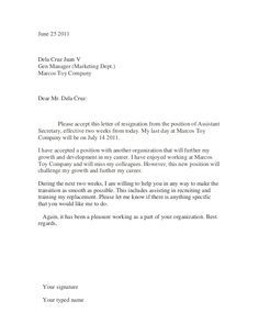 how to write a resign letter - Student Cover Letter For Resume
