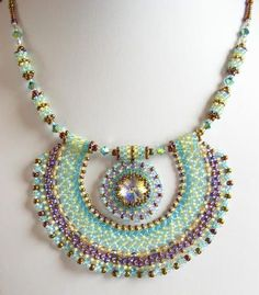 Downloadable bead weaving projects from beginner through advanced beaders! #beadedjewelry
