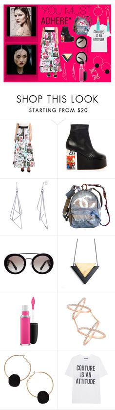"""""""You must adhere"""" by kiki-man on Polyvore featuring Polaroid, Alice + Olivia, Vivienne Westwood, BERRICLE, Chanel, Prada, MAC Cosmetics, Humble Chic, Moschino and Taolei"""