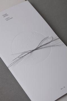 artless Inc. | news and portfolio : print : BOCUSE D'OR, ASIA PACIFIC 2014 : Menu for TEAM JAPAN (Asia Winner)