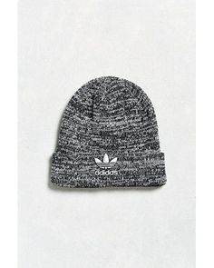 52b44194 Adidas Originals | Black Trefoil Knit Beanie for Men | Lyst Adidas  Originals Mens, Knit