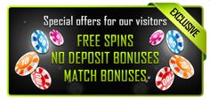 Exclusive promotions at Casino Online Rating!