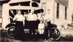 Rollin McCoy Bailey family 1919