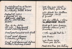 "Jim Morrison – 1971 ""Paris Journal"" Manuscript / Notebook (The Doors)"