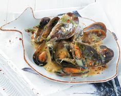 Greek Recipes, Fish Recipes, Seafood Recipes, Cookbook Recipes, Cooking Recipes, Healthy Recipes, Appetizer Salads, Appetizer Recipes, Food Network Recipes