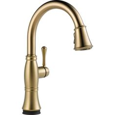 Delta Cassidy Single Handle Pull-down Kitchen Faucet with Touch2O(R) Technology - Overstock™ Shopping - Great Deals on Delta Faucets Kitchen Faucets