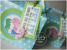 Felix' George Pig Party | CatchMyParty.com