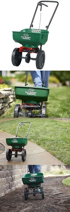 Seeders and Spreaders 118869: New Scotts Turf Builder Edge Guard Mini Broadcast Spreader Up To 5,000-Sq Ft -> BUY IT NOW ONLY: $47.51 on eBay!