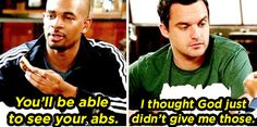 "When he started working out with Coach: | Community Post: 16 Times Nick Miller From ""New Girl"" Was Too Cute To Handle"