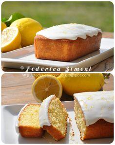 La cucina di Federica: Plumcake con glassa al limone