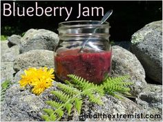 How to Make Blueberry Jam #homemade #jam #recipe
