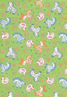 """ткань для детей 2010г из коллекции """"Дымковская игрушка"""""""