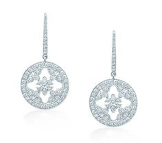 """Mappin & Webb necklace """"Empress white gold and diamond drop earrings"""