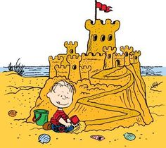Sandcastle Beach Clipart