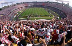 Morumbi, the biggest soccer stadium in Sao Paulo.