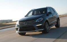 2012 Mercedes-Benz ML63 AMG - One fast Ute