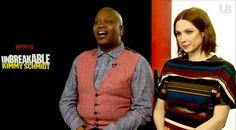 Exclusive: 'Unbreakable Kimmy Schmidt' stars Ellie Kemper and Tituss Burgess reveal their favorite Kardashians!