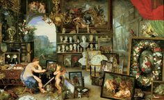 Allegory of Sight by Jan Brueghel the Elder and Peter Paul Rubens