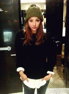 Lee Hyori - ROLE MODEL MAX OMG. Love how confident and successful she is and how she doesn't take crap from no one.