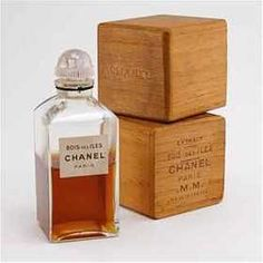 1930 Chanel Bois des Isles Perfume Bottle