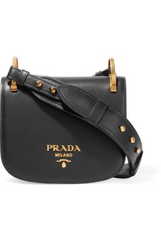 01c23be12304 Prada - Pionnière leather shoulder bag
