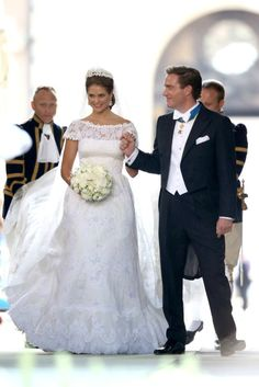 Royal Wedding: HRH Princess Madeleine of Sweden and Christopher O'Neill 6/8/13