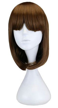 silky strands synthetic kanekalon silver grey wigs for
