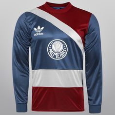 Camisa Adidas Palmeiras Goleiro Retrô M L Marinho  57ce63158