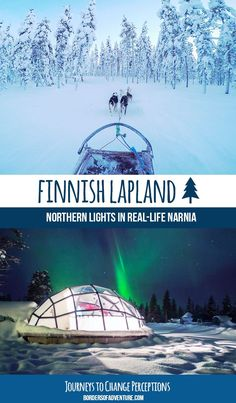 For those looking for a flawless patch of the Earth, whose paths still remain largely untouched and whose skies spend much of the year dancing, Finnish Lapland is your calling. Finland Travel, Norway Travel, Spain Travel, Lapland Northern Lights, See The Northern Lights, Arctic Landscape, Europe Train Travel, Trip Planning, Great Places