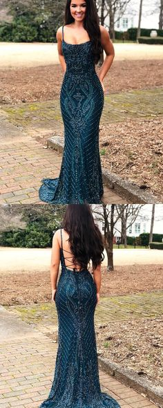 Shop gorgeous lace navy blue square beading mermaid evening dress at affordable price, free custom size and color, fast shipping! Sequin Prom Dresses, Blue Evening Dresses, Beaded Prom Dress, Mermaid Evening Dresses, Wedding Dresses, Navy Blue Prom Dress Long, Dresser, Pretty Dresses, Blue Square