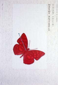 Madame Butterfly, Polish Opera Poster: Polish Posters Shop Ryszard Kaja