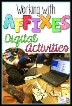 Coding in the classroom! Check out this digital activity that will get your students excited to work with affixes! They will use Scratch and a MaKey-MaKey.