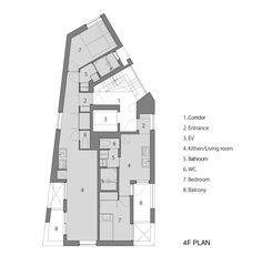 Gallery of Kitasenzoku Apartment / Tomoyuki Kurokawa Architects - 19