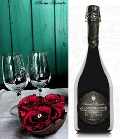 Are you thinking to a #romantic cheers? We suggest a good #glass of #Valdobbiadene Superiore di #Cartizze #Brut #AnnaSpinato