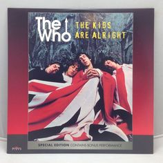 The Who: The Kids Are Alright (1979) [72333-80045-6] Music Laserdisc