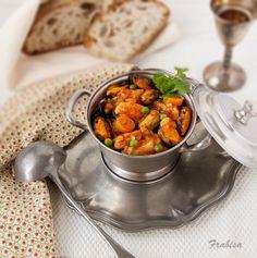 Guiso de mejillones gallegos by la cocina de Fabrisa http://lacocinadefrabisa.blogspot.com.es/2013/01/guiso-de-mejillones-gallegos.html