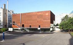 Escaparate deportivo 241 Centro Deportivo Hector Berlioz, Dietmar Feichtinger Architect