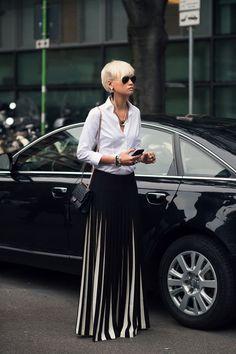 #EstherQuek looking phenomenal in Milan.: