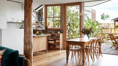 The Design Files - A Magical Inner City Treehouse - Photo, Caitlin Mills Australian Architecture, Australian Homes, Architecture Awards, The Design Files, Mid Century House, Mid Century Design, Inspired Homes, Contemporary, Modern