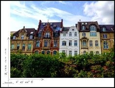 Coordinates from a German city facade..  #Dusseldorf #Germany #travel #photography